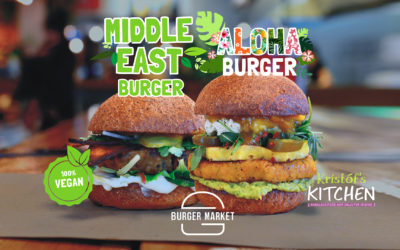 100% vegan | MIDDLE EAST & ALOHA burger by Kristóf's Kitchen
