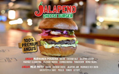 JALAPENO CHEESE BURGER – az ősz signiture hamburgere